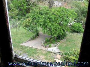 Oamaru Creek Bed and Breakfast garden