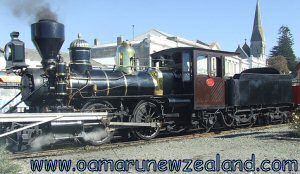 Oamaru Steam train